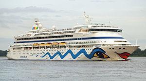 Kreuzfahrtschiff AIDA Cruises AIDAaura