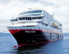 Kreuzfahrtschiff Hurtigruten MS Trollfjord